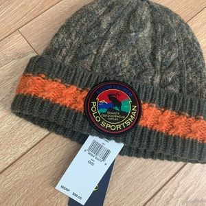 Brand new polo winter hat.